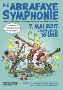 Abrafaxe Symphonie Poster