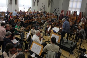 Aufnahmesession Abrafaxe Symphonie